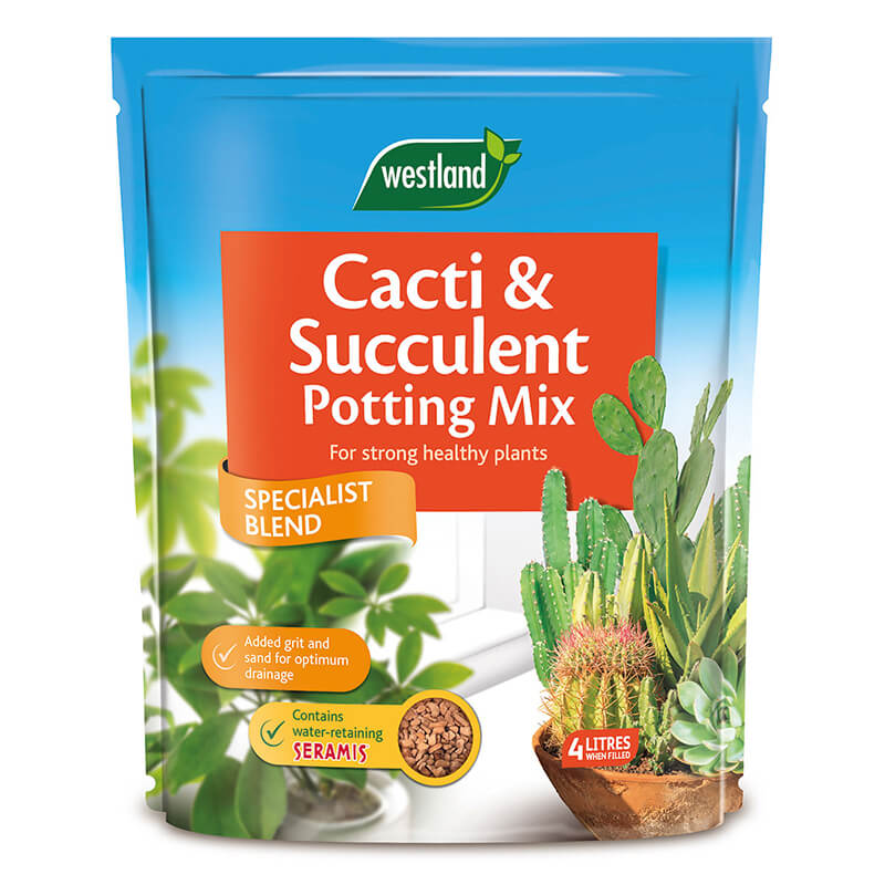 Cacti & Succulent Potting Mix (Enriched with Seramis)