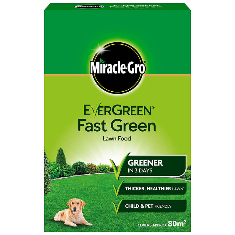 Miracle-Gro Evergreen Fast Green Lawn Food 2.8kg