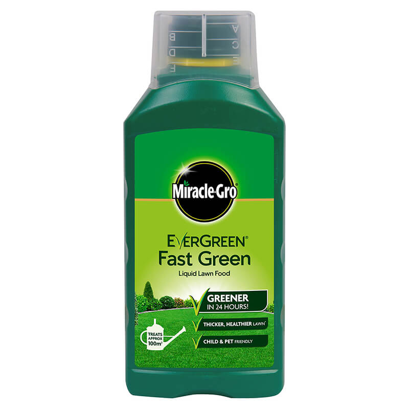 Miracle-Gro Evergreen Fast Green Liquid Concentrate 1 Litre