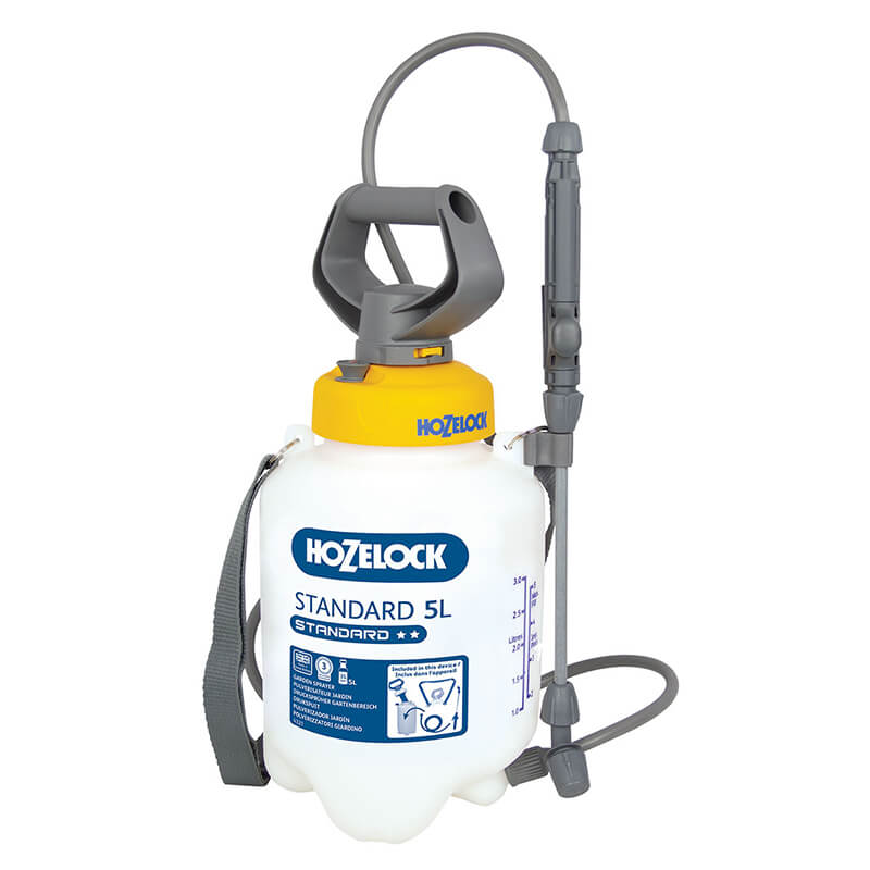 Standard Pressure Sprayer 5 Litre with Weedkiller Cone