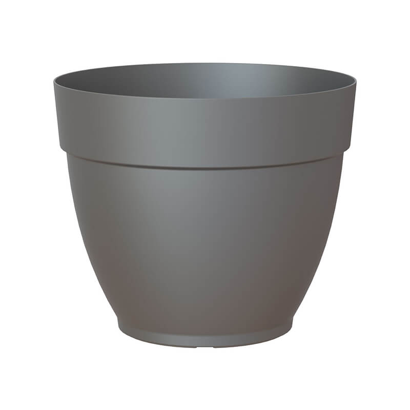 Capri Campana Pot 30cm in Anthracite