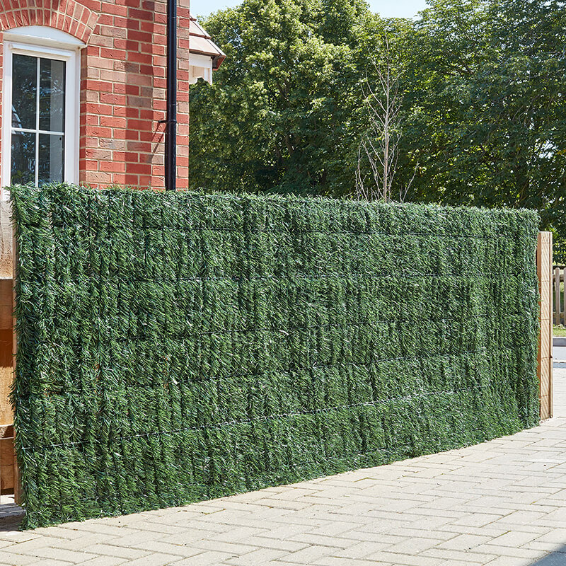 Faux Grass Screen