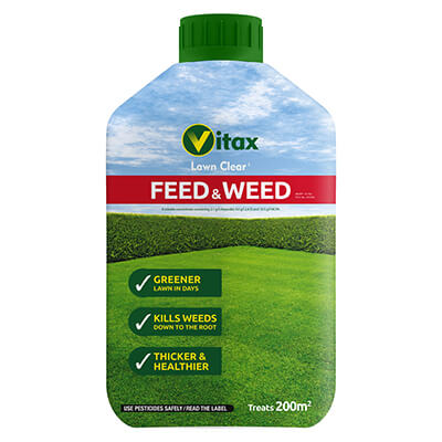 Vitax Feed & Weed 200 sq.m. Bottle