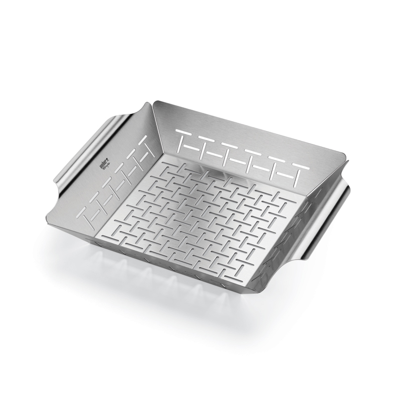 Deluxe Large High-Side Grill Basket