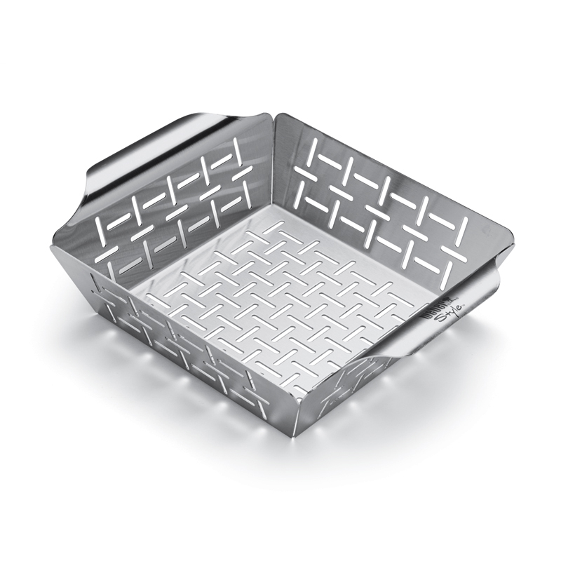 Deluxe Small High-Side Grill Basket
