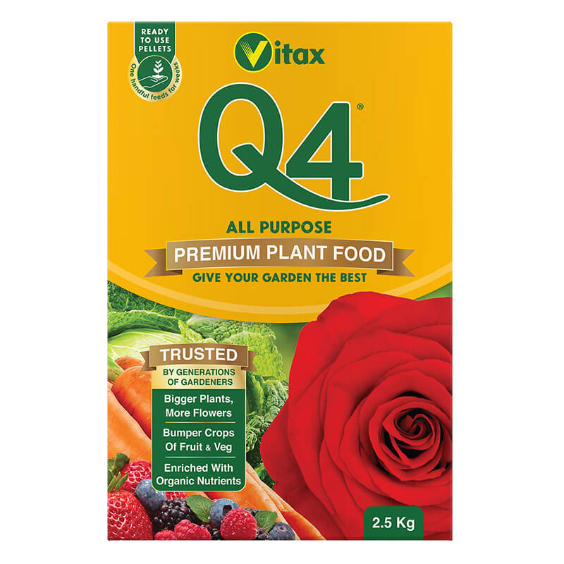 Vitax Q4 Fertiliser 2.5kg Box