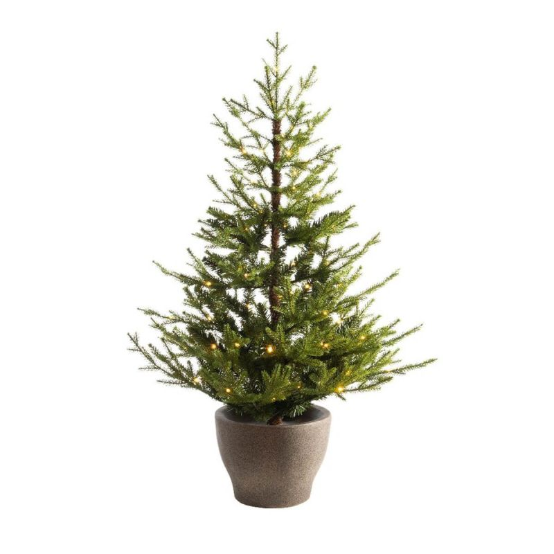 90cm Norway Potted Tree with 60 LEDs