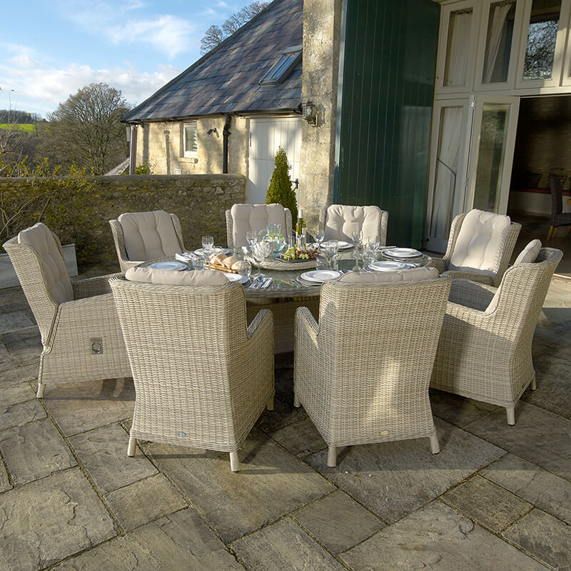 Chedworth 8 Seat Dining Set