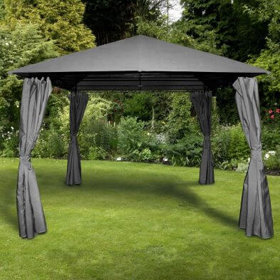 Columbus Grey 3m x 3m Gazebo