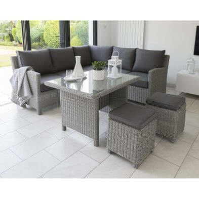 Palma Casual Dining Mini Corner Set