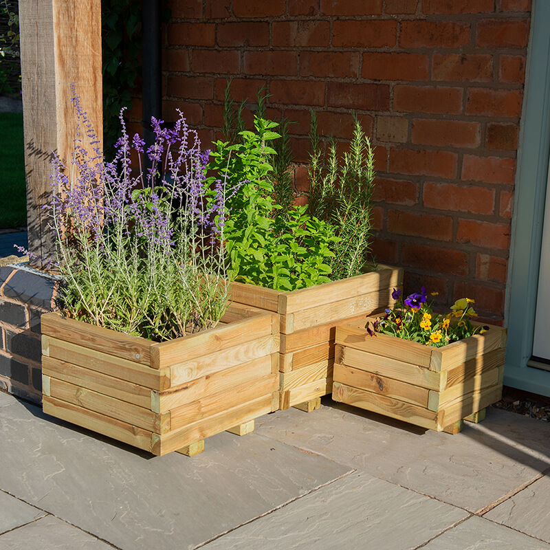 Kendal Square Planter - Set of 3