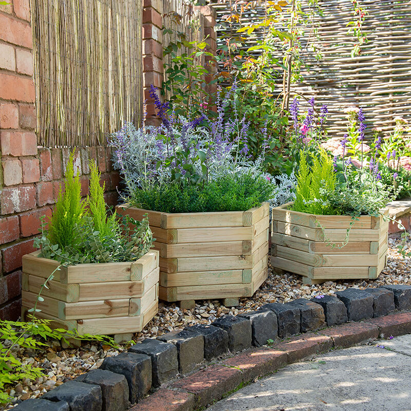 York Hexagonal Planter - Set of 3