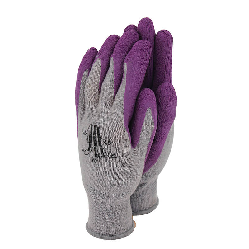 Bamboo Gloves Grape - Extra Small
