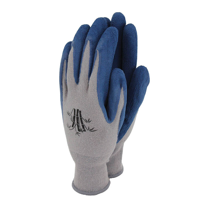 Bamboo Gloves Navy - Large