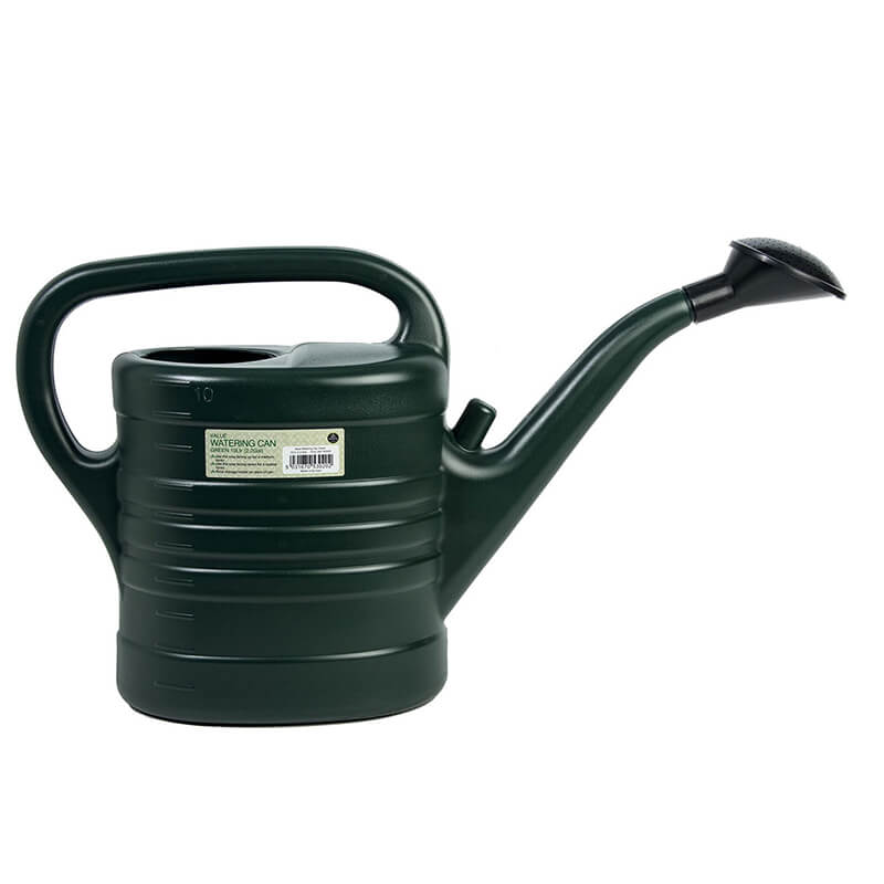 Value Watering Can Green 10ltr (2.2 Gallon)
