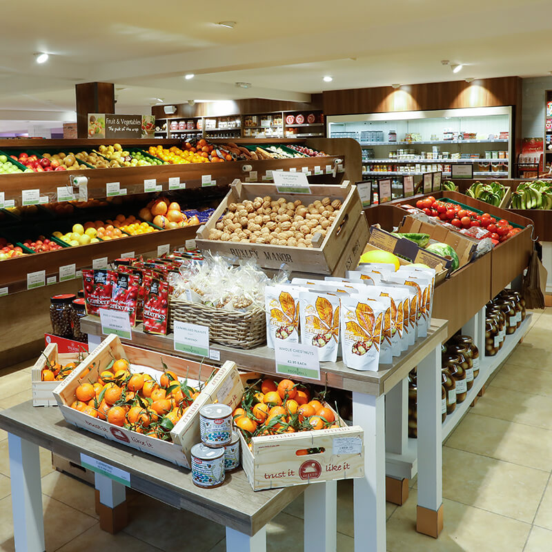Fresh Fruit and Vegetables at Ruxley Food Hall