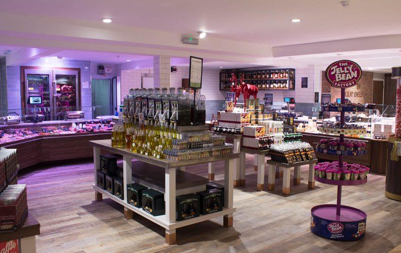 Food Hall and Butchers at Ruxley Manor