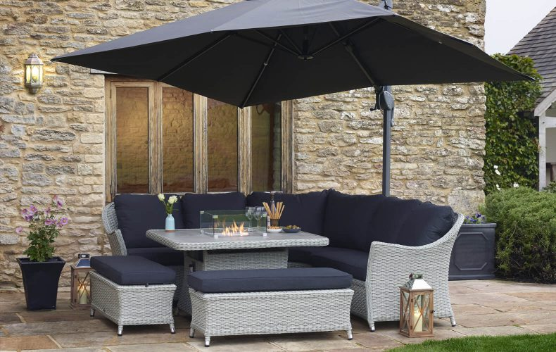 Chatsworth Firepit Furniture Set
