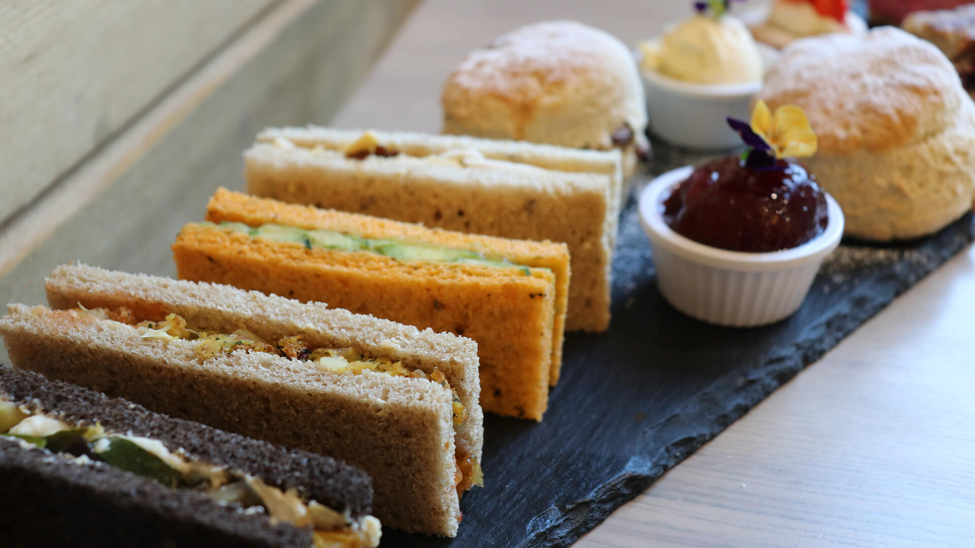 Sandwiches and Scones at The Mulberry Tree