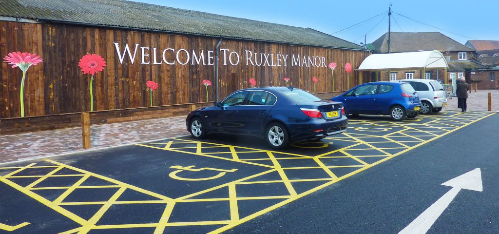 Accessibility at Ruxley