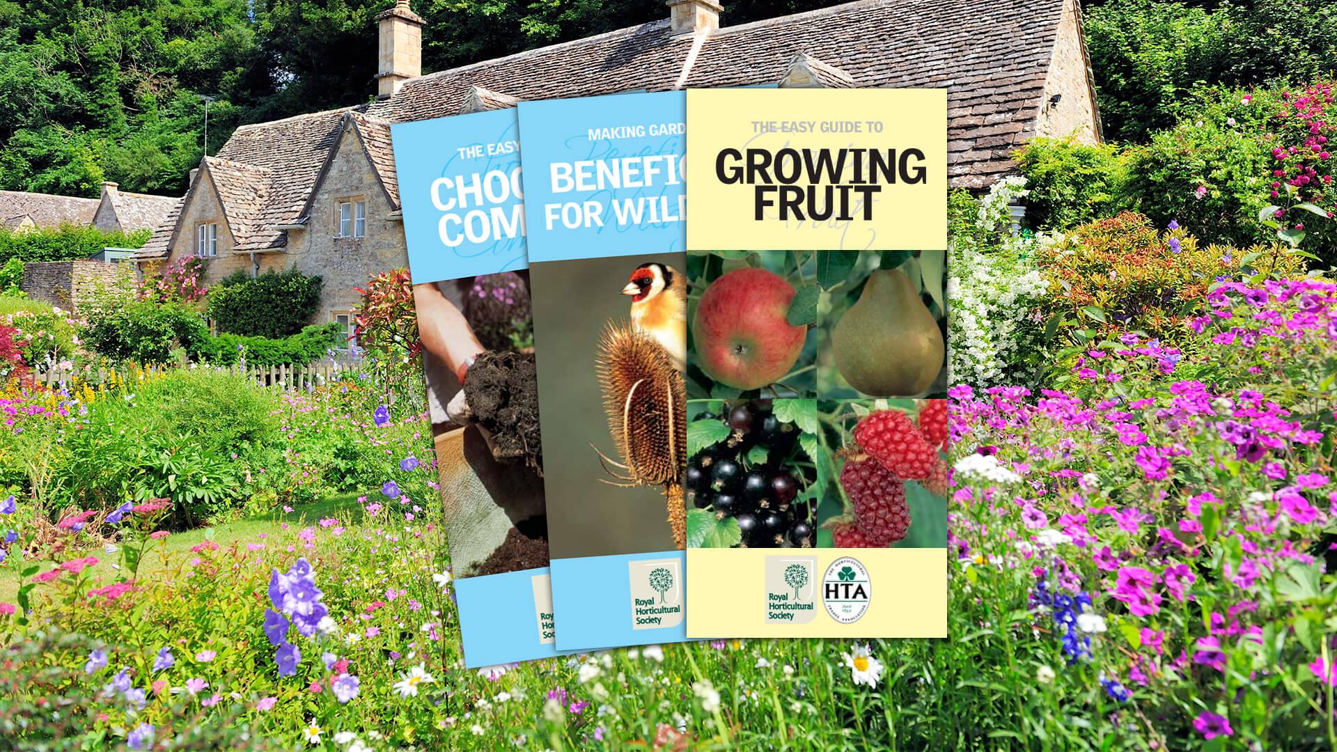 HTA RHS Gardening Guides