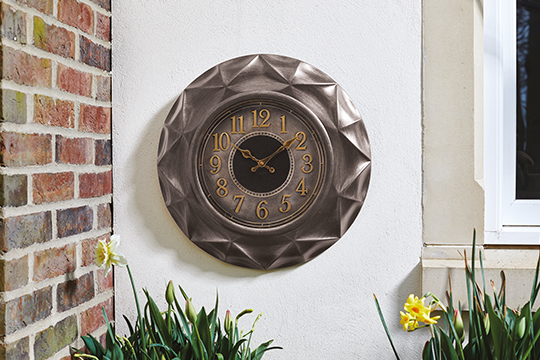 Repton Clock outdoor decor