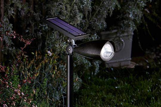 Solar Garden Spotlight