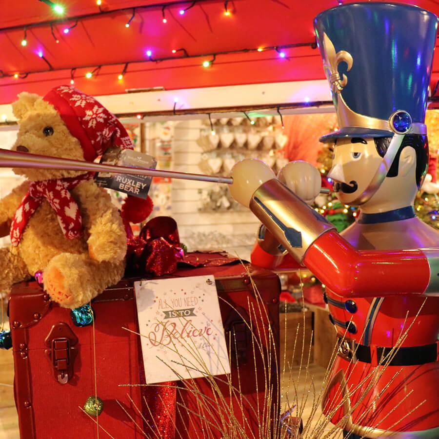 Christmas Cracker Christmas Shop Display