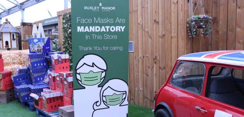 COVID Visit Ruxley Manor